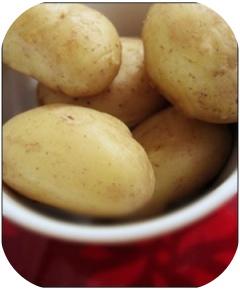 Aardappelen in schil